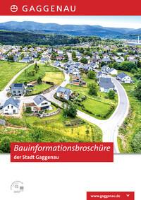 Bauinformationsbroschüre der Stadt Gaggenau (Auflage 1)