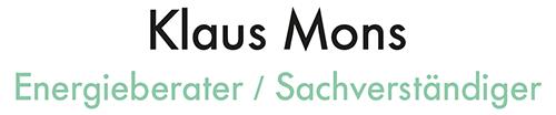 Klaus Mons Energieberatung