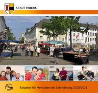 Ratgeber für Menschen mit Behinderung 2020 / 2021 Stadt Moers (Auflage 7)