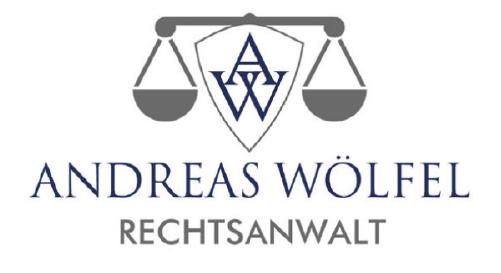 Rechstanwalt Andreas Wölfel