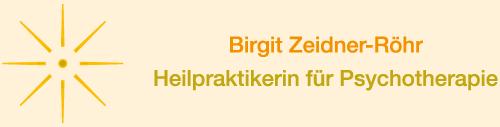 Birgit Zeidner-Röhr, Heilpraktikerin eingeschränkt Psychotherapie