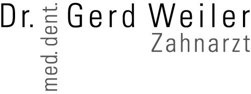 Dr. Gerd Weiler