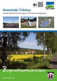 Bürger-Informationsbroschüre der Gemeinde Tröstau (Auflage 1)