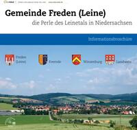 Informationsbroschüre der Samtgemeinde Freden (Auflage 9)