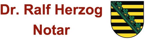 Notar Dr. Ralf Herzog
