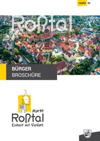 Bürgerinformationsbroschüre des Marktes Roßtal (Auflage 14)