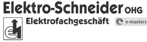 Elektro - Schneider OHG