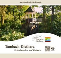 Informationsbroschüre der Stadt Tambach-Dietzharz (Auflage 1)