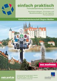 Formularsammlung Arbeitsrecht Kreishandwerkerschaft Region Meißen (Auflage 6)