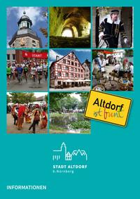 Bürgerinformationsbroschüre der Stadt Altdorf bei Nürnberg (Auflage 3)