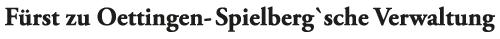 Fürst zu Oettingen-Spielberg'sche