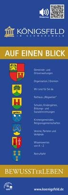 Bürgerinformationsbroschüre der Gemeinde Königsfeld im Schwarzwald (Auflage 1)