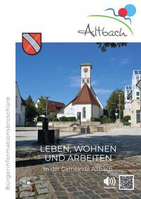 Informationsbroschüre der Gemeinde Altbach (Auflage 1)