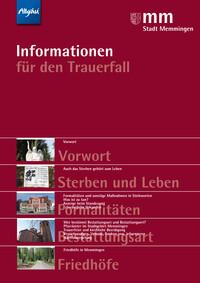 Ratgeber für den Trauerfall in Memmingen (Auflage 3)