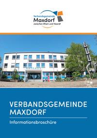 Verbandsgemeinde Maxdorf Informationsbroschüre (Auflage 1)