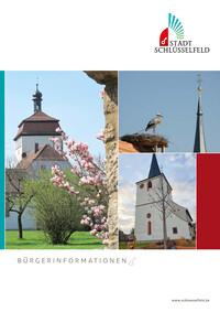 Bürgerinformationsbroschüre der Stadt Schlüsselfeld (Auflage 7)