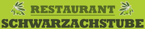 Restaurant Schwarzachstuben