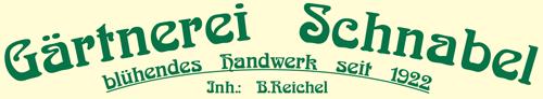 Gärtnerei Schnabel