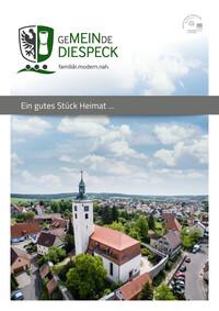 Bürgerinformationsbroschüre Gemeinde Diespeck (Auflage 10)