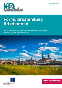 Formularsammlung Arbeitsrecht Kreishandwerkerschaft Dresden (Auflage 9)