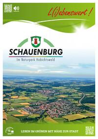 Bürgerinformationsbroschüre der Gemeinde Schauenburg (Auflage 3)