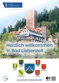 Informationsbroschüre der Stadt Bad Liebenzell (Auflage 1)