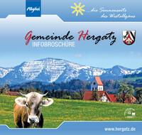 Bürger-Infomationsbroschüre der Gemeinde Hergatz (Auflage 3)