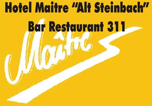 "Maitre Hotel ""Alt Steinbach"""