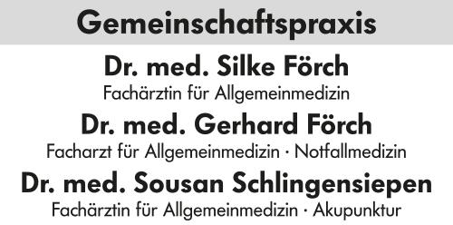 Dres. med. S.Förch - G.Förch - S.Schlingensiepen