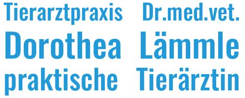 Dr.med.vet. Dorothea Lämmle