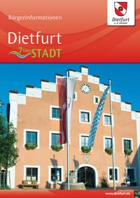 Bürgerinformationsbroschüre der Stadt Dietfurt an der Altmühl (Auflage 6)