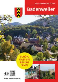 Bürger-Informationsbroschüre Gemeinde Badenweiler (Auflage 4)