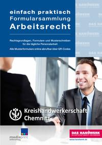 Arbeitsrechtbroschüre Kreishandwerkerschaft Chemnitz (Auflage 4)
