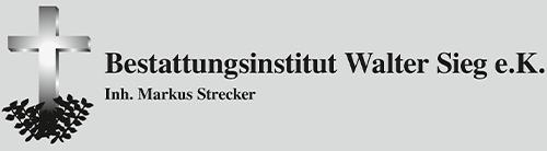 Bestattungen W. Sieg