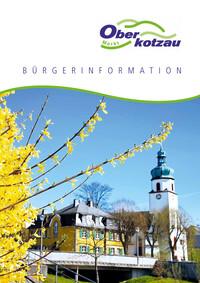 Informationsbroschüre des Marktes Oberkotzau (Auflage 12)