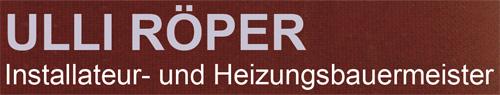 Ulli Röper - Innovative Sanitär-und Heizungstechnik