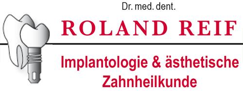 Dr. med. dent. Roland Reif